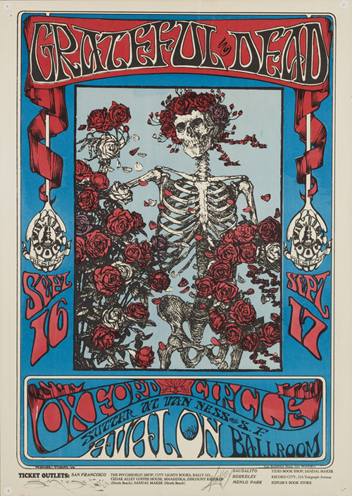Skull and Roses (FD-26), Mouse & Kelly, 1966.